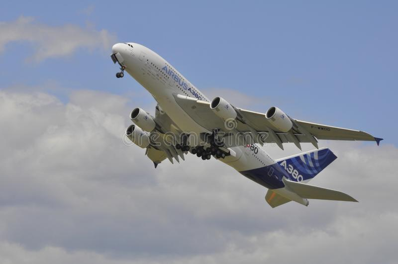 Download Airbus climbing editorial photography. Image of tradeshow - 20602002