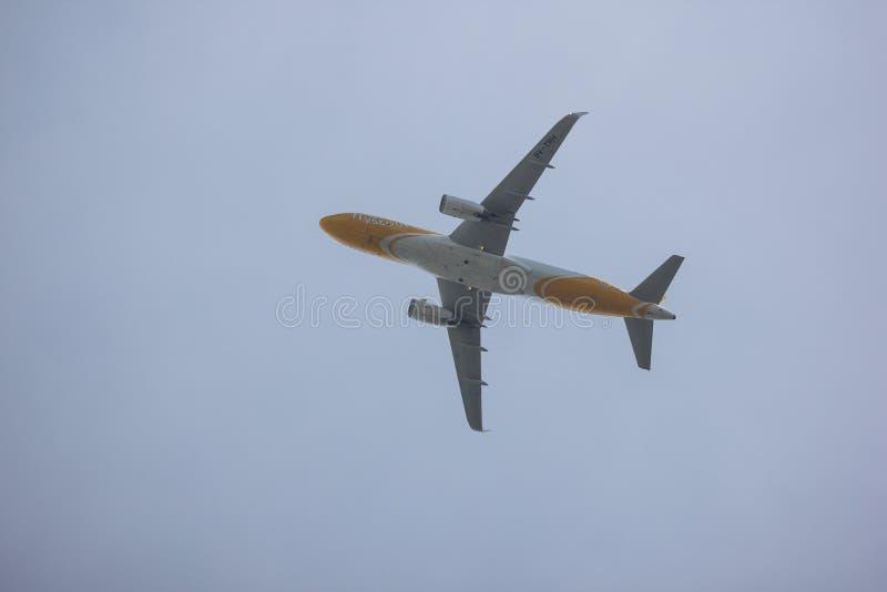 Airbus A320-200 d'air de Scooth photos stock