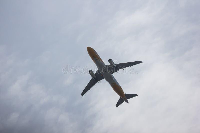 Airbus A320-200 d'air de Scooth photo libre de droits
