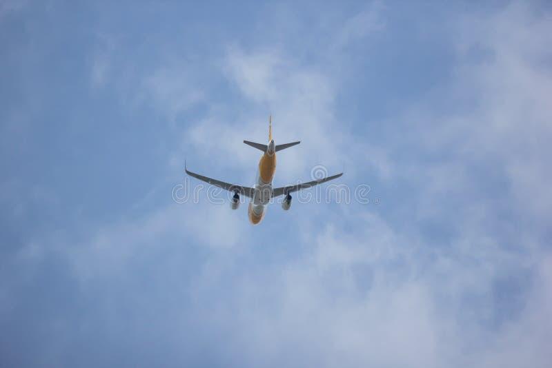 Airbus A320-200 d'air de Scooth photographie stock libre de droits