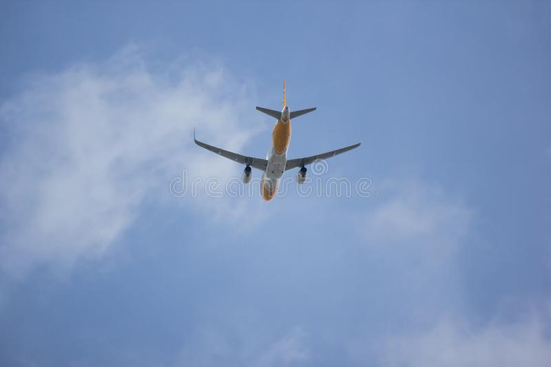 Airbus A320-200 d'air de Scooth images stock