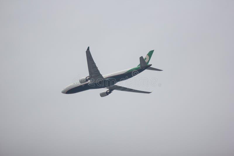 Airbus A330-300 d'EvaAir images stock