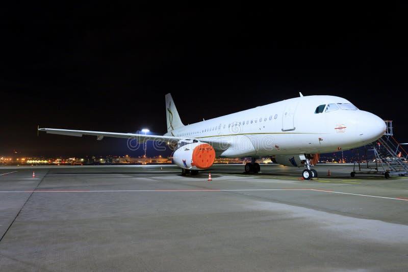 Airbus a320 da aviação da C.C. imagens de stock royalty free