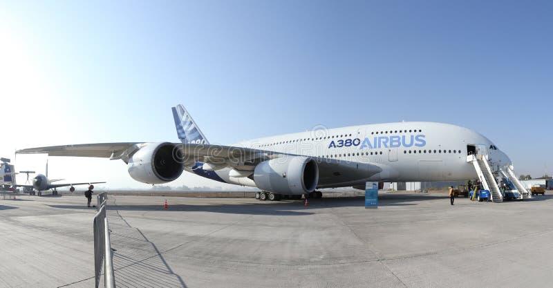 Airbus 380 2 stock photo