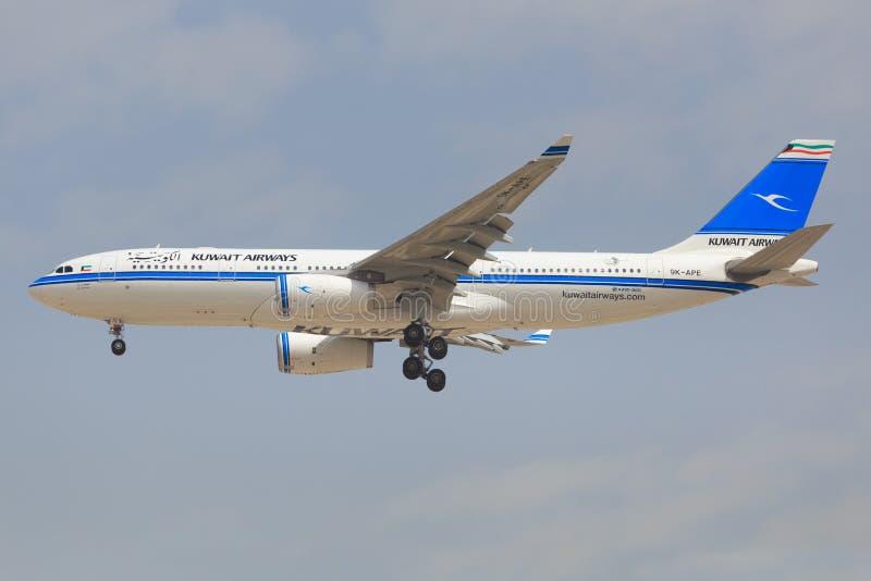 Airbus A330 du Kowéit image libre de droits