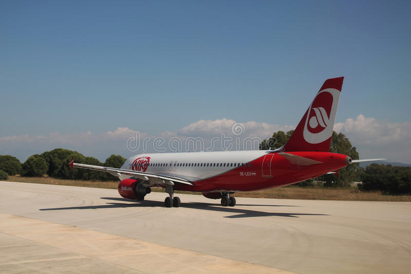 Airbus FlyNiki Air Berlin group stock photography