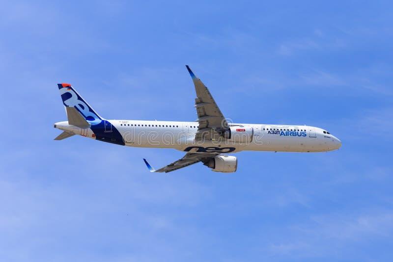 Airbus A321 NEO immagini stock libere da diritti