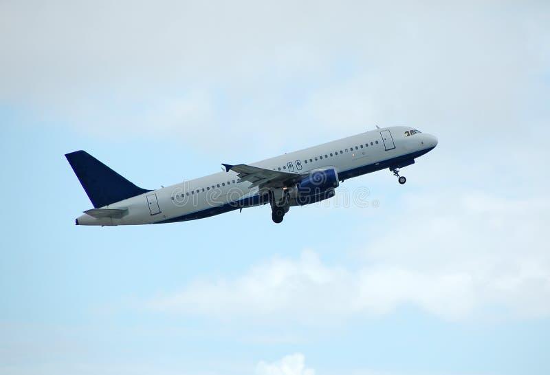 Airbus passenger liner stock photos