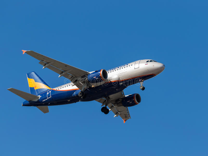 Airbus A319 royalty free stock images