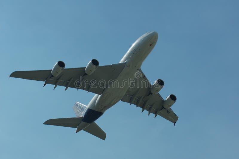 Airbus superbe A380 photo libre de droits