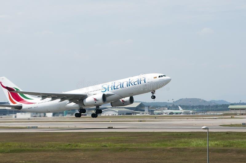 Airbus A330 Take Off stock photos