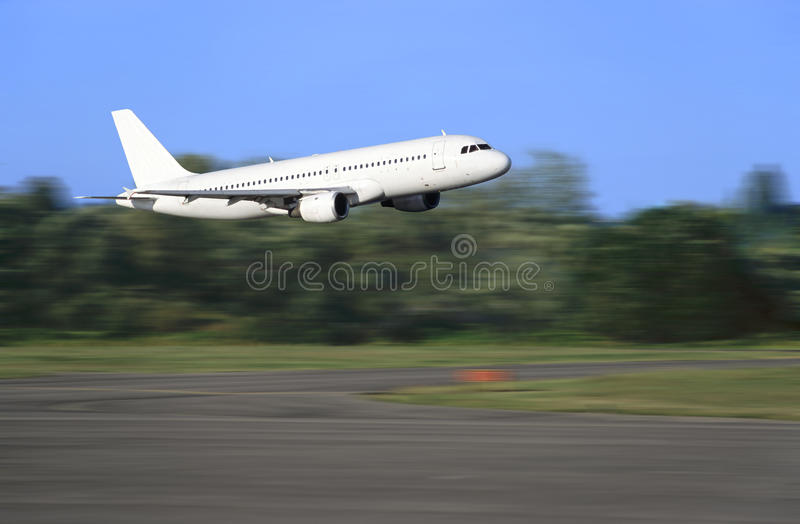 Download Airbus taking off stock image. Image of airport, liner - 14649773