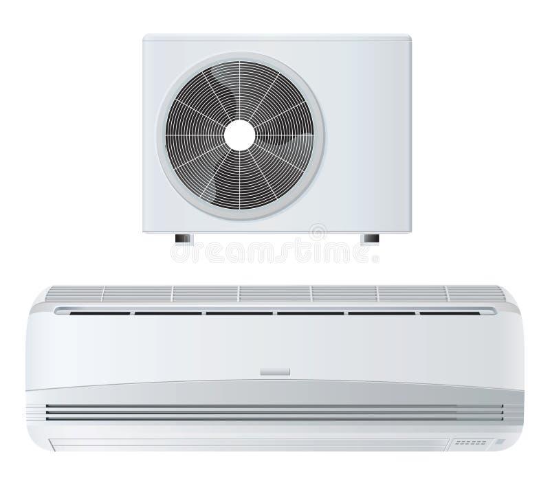 Airconditioner royalty-vrije illustratie