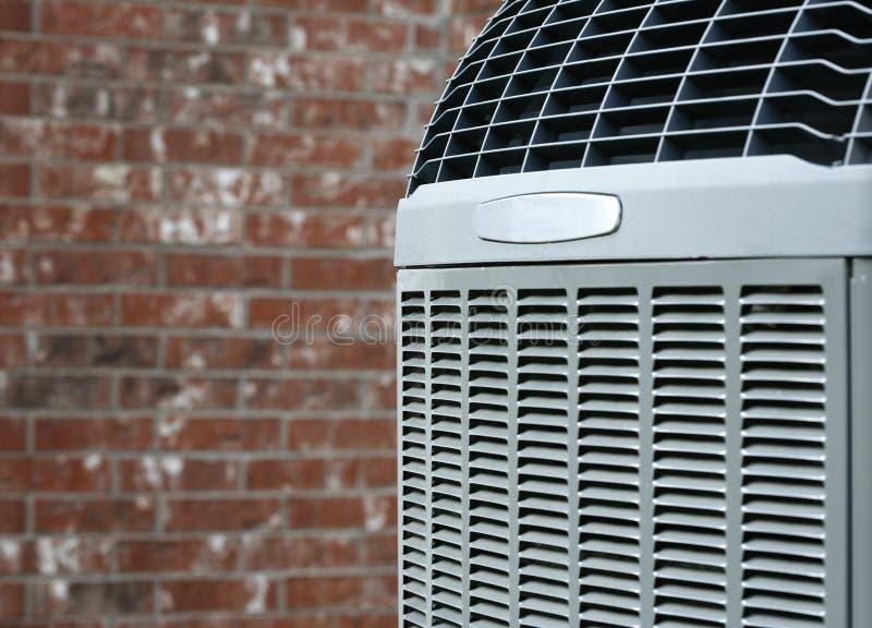 Airconditioner dichte omhooggaand stock afbeeldingen