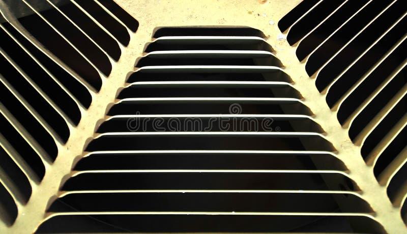 Airconditioneropening stock afbeeldingen