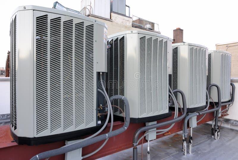 Airconditioners stock afbeeldingen