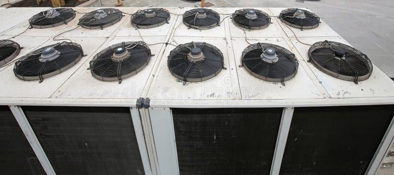 Airconditionersventilatie stock foto