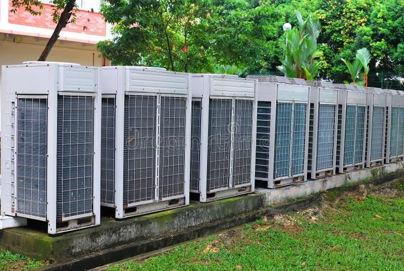 Airconditionerventilator stock afbeelding