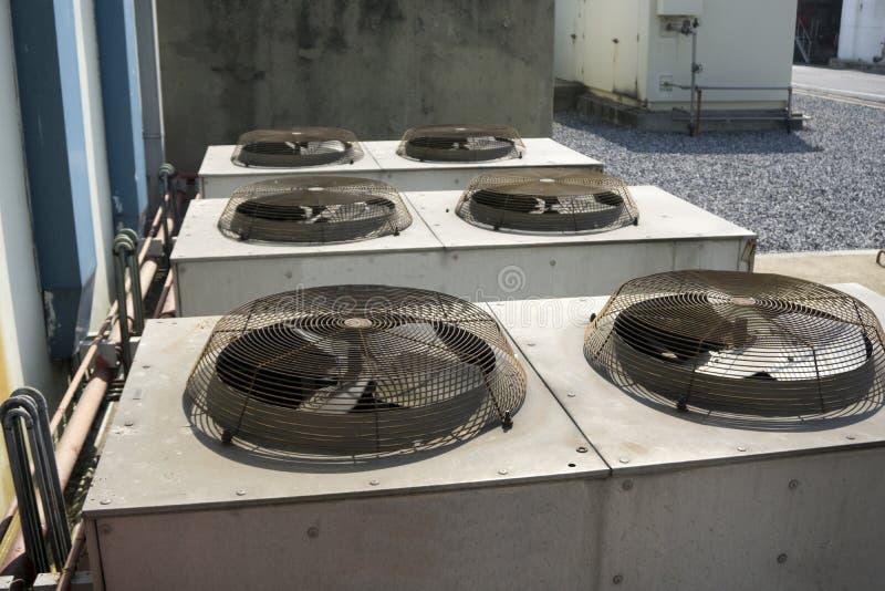 Airconditionerventilator royalty-vrije stock afbeeldingen