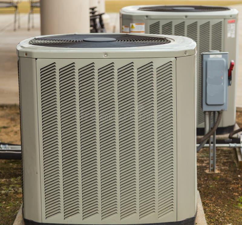 Airconditioning buiten Umit stock foto