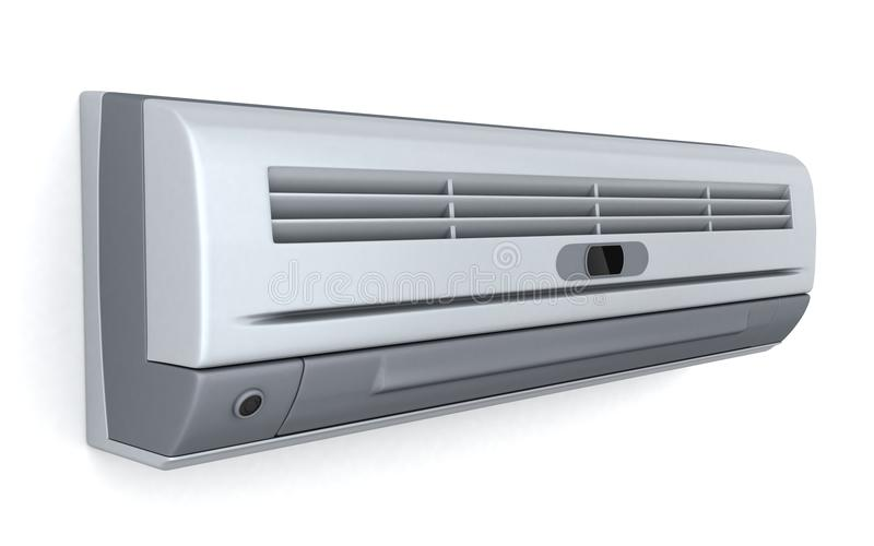 Airconditioningstoestel vector illustratie