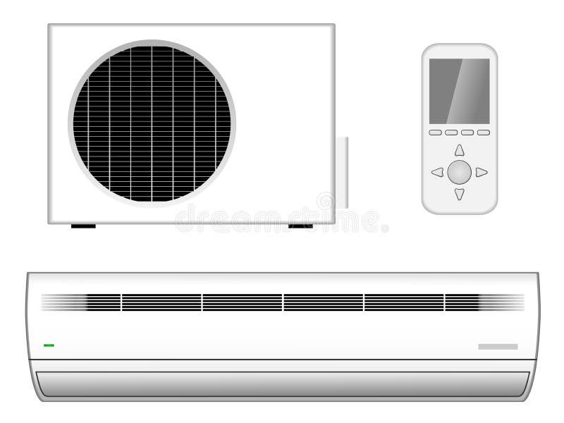Airconditioningstoestel vector illustratie