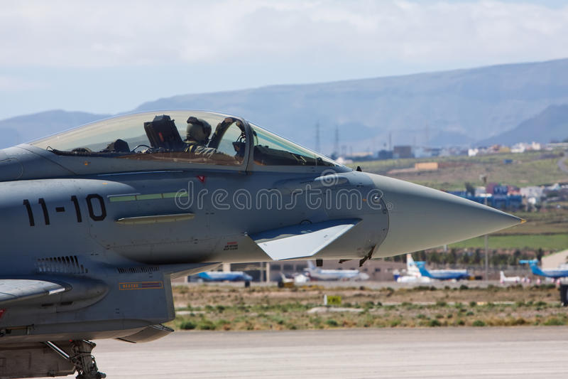 Download Aircraft stock photo. Image of eurofighter, landing, pilot - 12918844