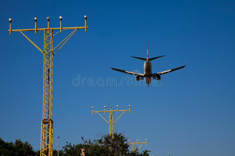 Download Aircraft stock photo. Image of landing, domestic, transportation - 22599544