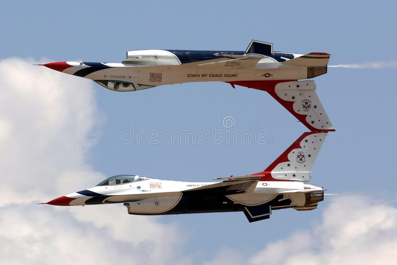 Aircraft, Airplane, Air Force, Fighter Aircraft royalty free stock photo