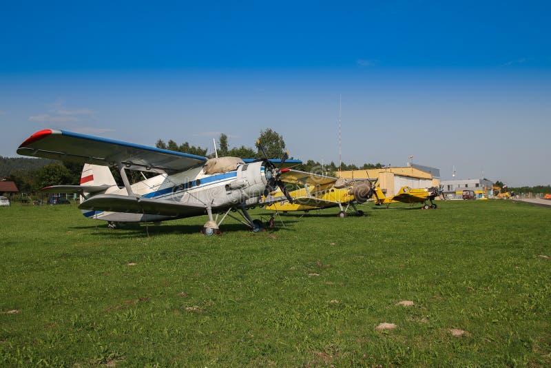 Aircraft, Airplane, Light Aircraft, Flight stock photo