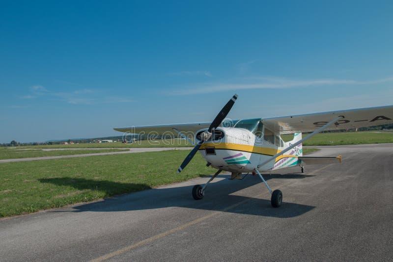 Aircraft, Airplane, Light Aircraft, Flight royalty free stock image