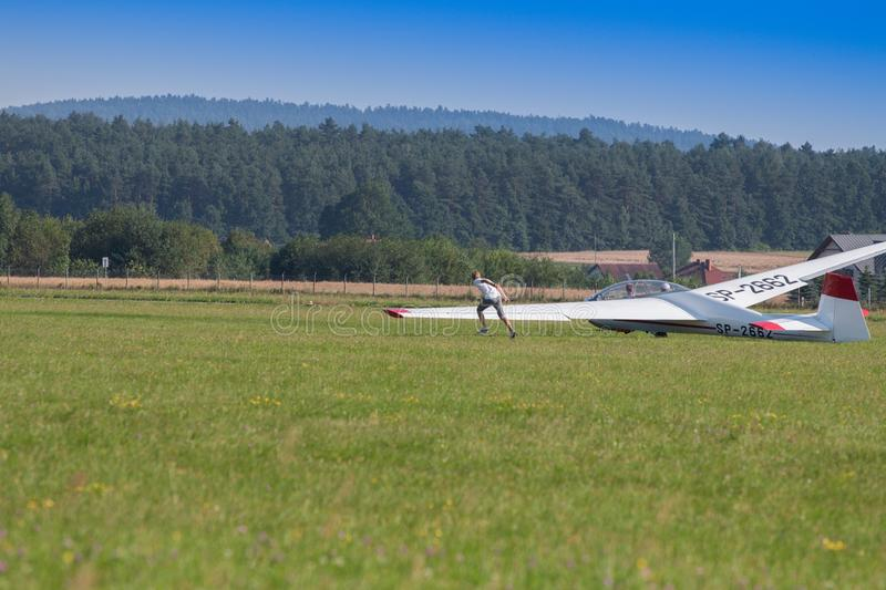 Aircraft, Airplane, Sky, Flight royalty free stock images