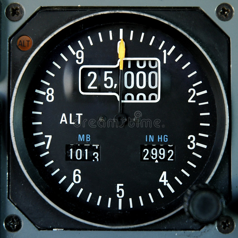 Free Aircraft Altimeter Stock Images - 2214974
