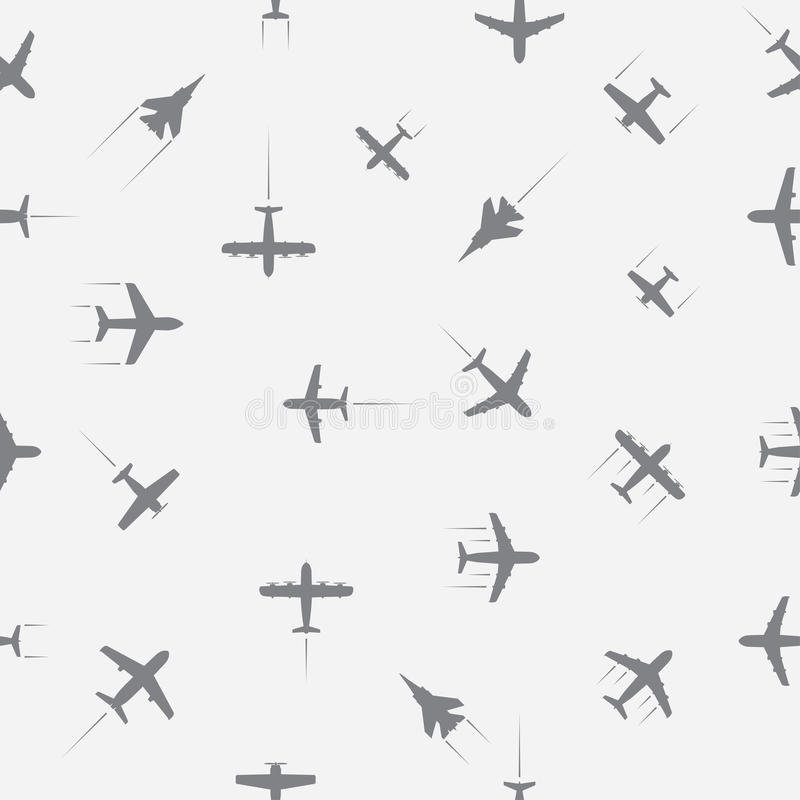 Aircraft. Background seamless. vector eps8 vector illustration