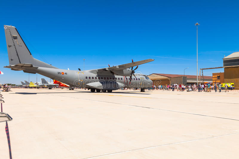 Aircraft CASA C-295 royalty free stock images