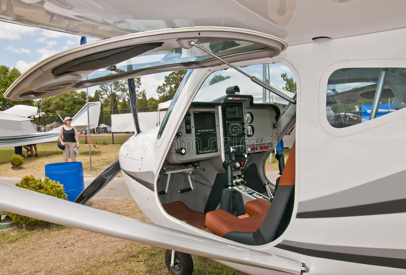 Download Aircraft Cockpit stock photo. Image of buyer, high, pilot - 23827678
