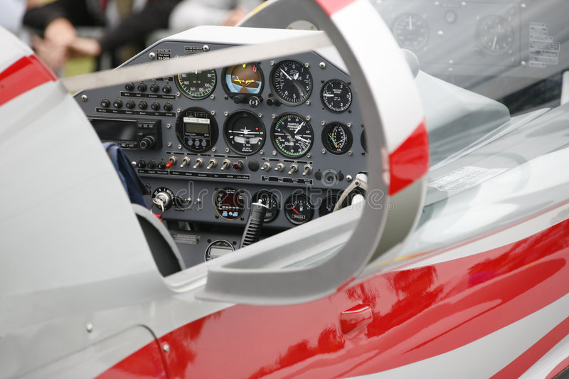 Download Aircraft Cockpit Stock Photo - Image: 8384630