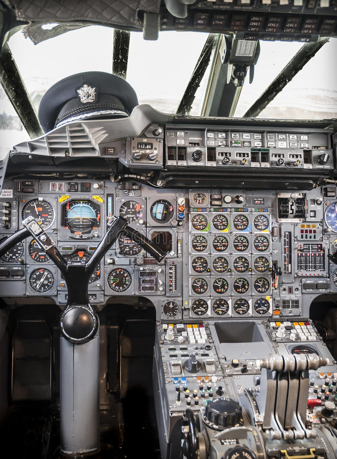 Download Aircraft Cockpit stock image. Image of controls, buttons - 35349081