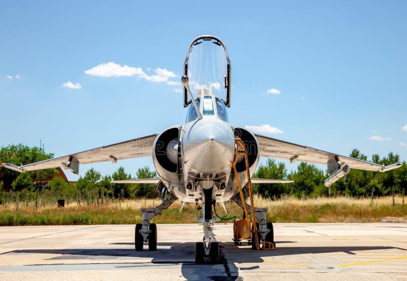Aircraft Dassault Mirage F1 stock photo