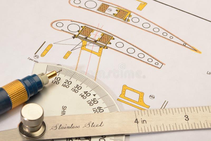 Aircraft design stock photography