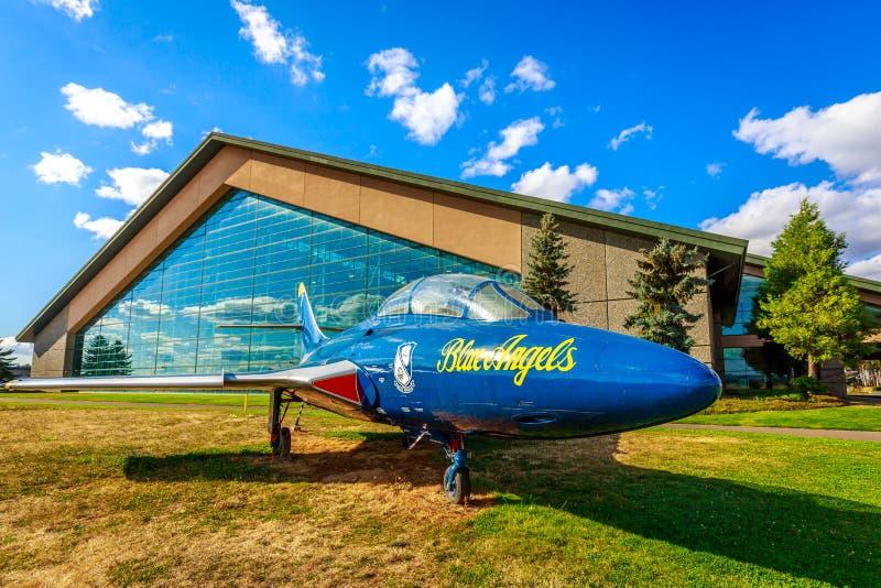 Aircraft Exhibition stock photos