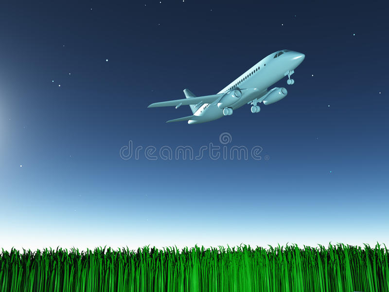 Download Aircraft In Flight Royalty Free Stock Image - Image: 25322996
