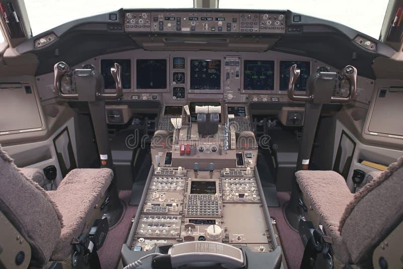 Aircraft flight-deck stock photography