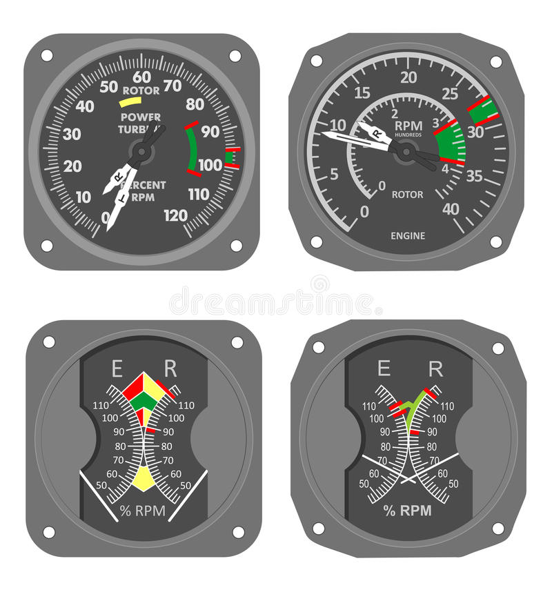 Download Aircraft gauges (#7) stock illustration. Illustration of needle - 21208308