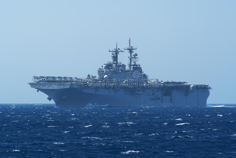 Aircraft and helicopter carrier stock images