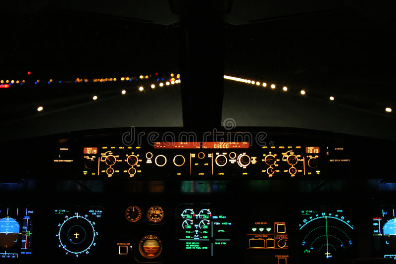 Download Aircraft landing stock photo. Image of flight, business - 2928848