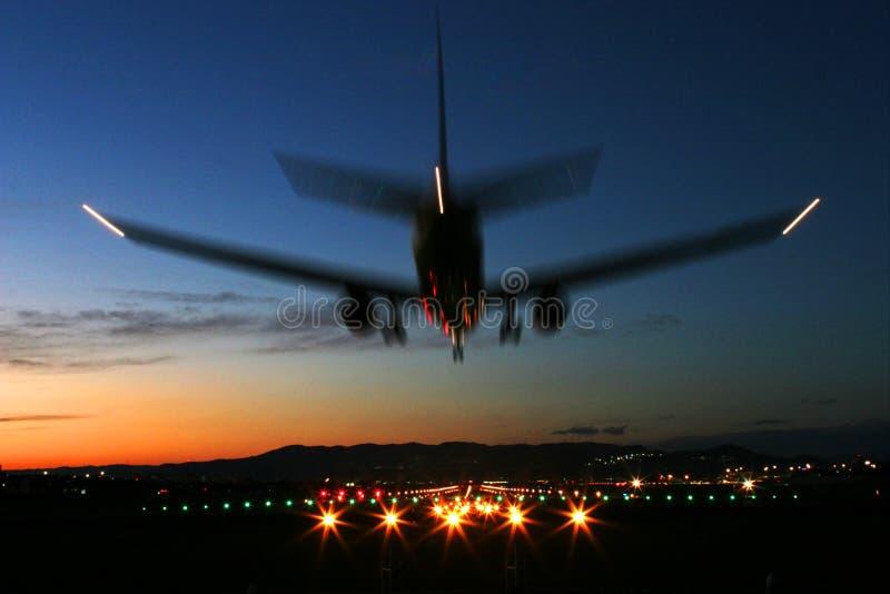 Aircraft Landing stock photos