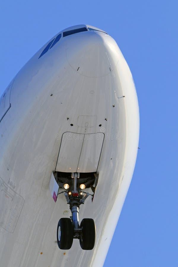 Aircraft nose close up