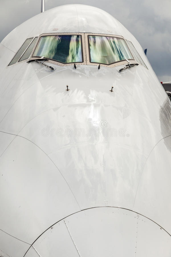 Free Aircraft Nose With Cockpit Window Royalty Free Stock Photography - 93891067