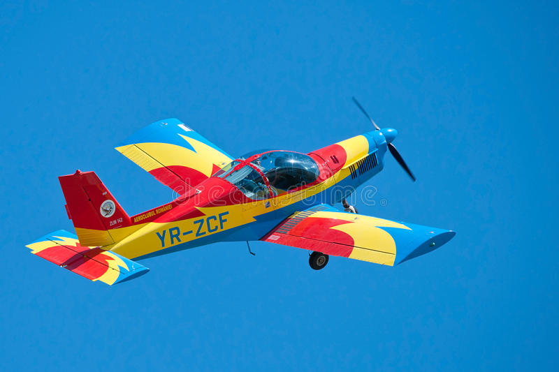Aircraft performing at the Romanian Air Show